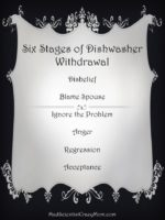 The Six Stages of Dishwasher Withdrawal