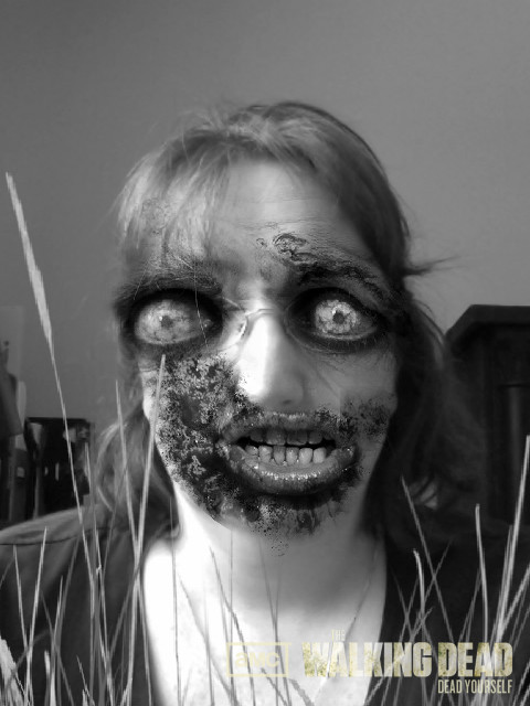 Me as a zombie.  I don't think this was due to baculoviruses.
