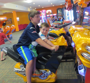 michael and nate arcade