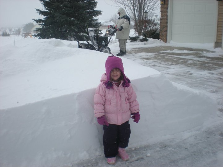 I kind of hope we will get snow like this storm in Madison several years ago.