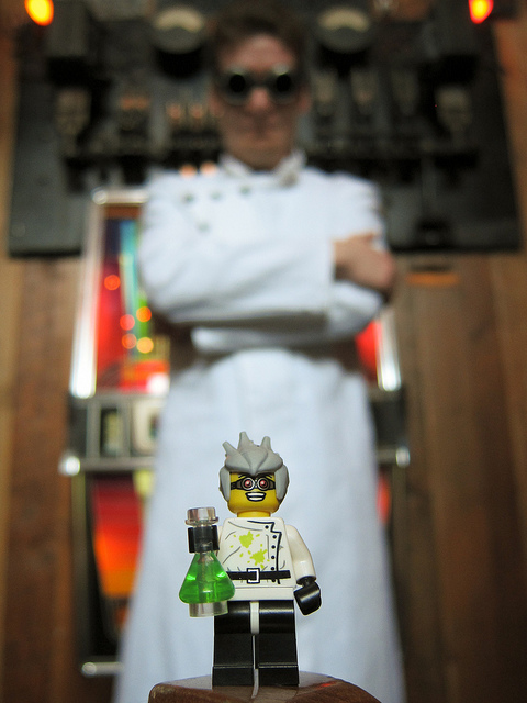 Lego Mad Scientist